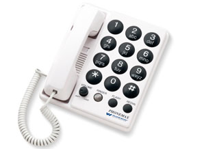 Williams Sound PhoneMax Amplified Telephone With High Frequency Boost